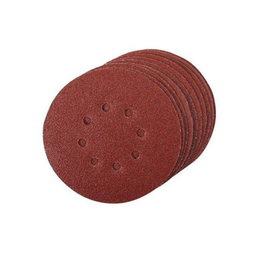 Silverline Single Sided Sanding Disc,  60G, 150 mm, Velcro