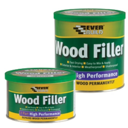High Performance Wood Filler, Light Stainable, 1.4 kg