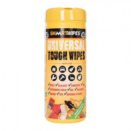 Universal Tough Wipes, 40 pcs