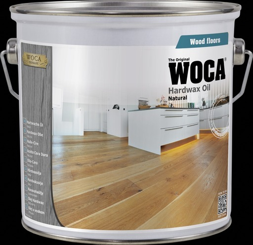 WOCA Hardwax-Oil, Extra White, 2.5L