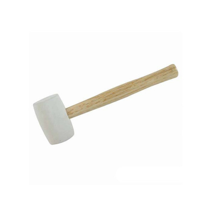 Silverline White Rubber Mallet, 24 oz