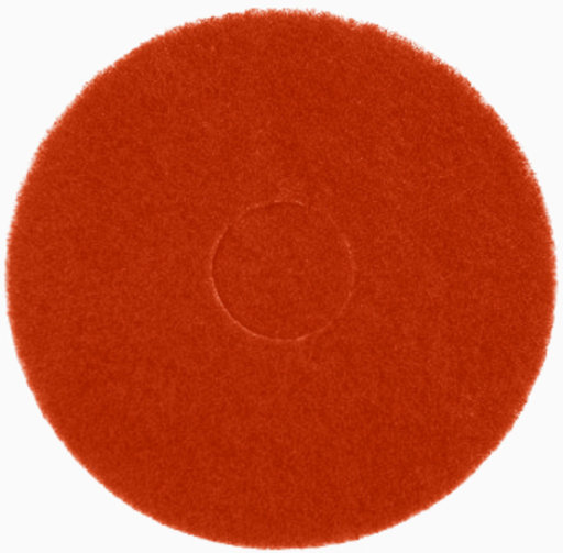 Bona Buffing Cleaning Pads, Red, Pack of 5, 407 mm