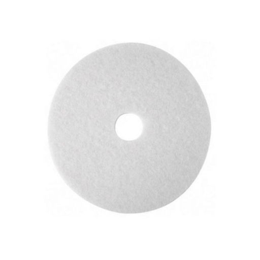Bona Buffing Cleaning Pads, White, Pack of 5, 407 mm