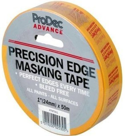 Precision Edge Masking Tape, 36 mm x 50 m