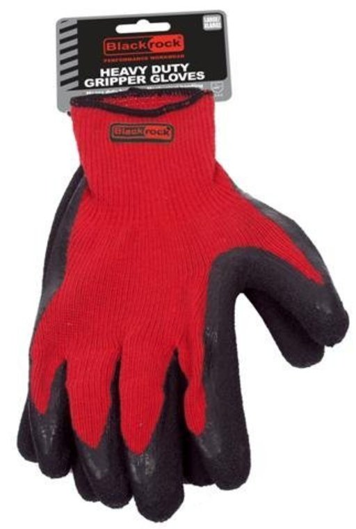 BlackRock Heavy Duty Gripper Gloves