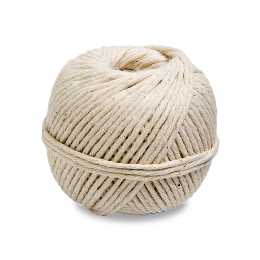 Cotton Parcel String, No.5, Natural, 85 gm