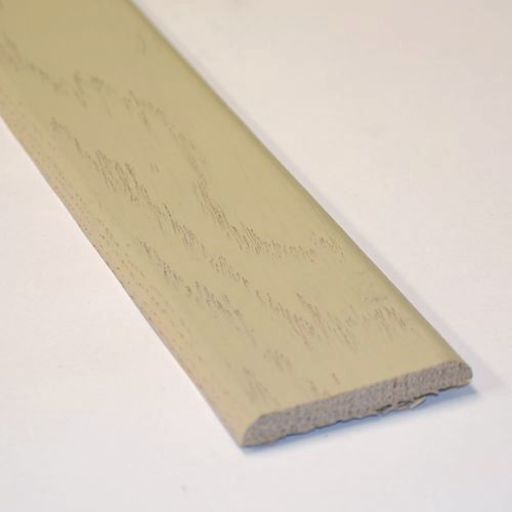Solid White Oak Flat Threshold Strip, Lacquered, 0.9 m