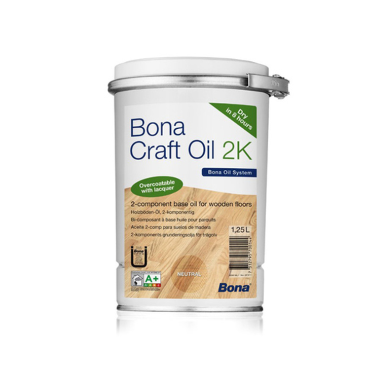 Bona Craft Oil, 2K, Umbra, 1.25 L