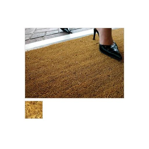 Kersaint Cobb Entrance Coir Matting, Natural, 17 mm