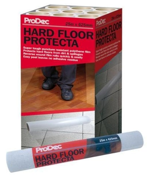 ProDec Hard Floor Protecta Self-Adhesive Film, 625 mm, 25 m