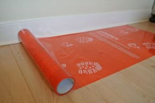 Unika Hard Surface Protective Self-Adhesive Film, 600 mm, 20 m