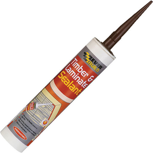 Everbuild Timber & Laminate Sealant, Mahogany, 295 ml
