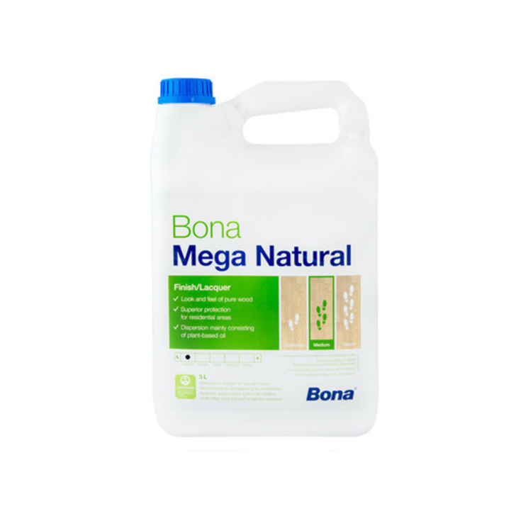 Bona Mega Natural Varnish, 5 L